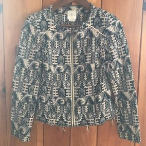 Hei Hei cropped knitted jacket